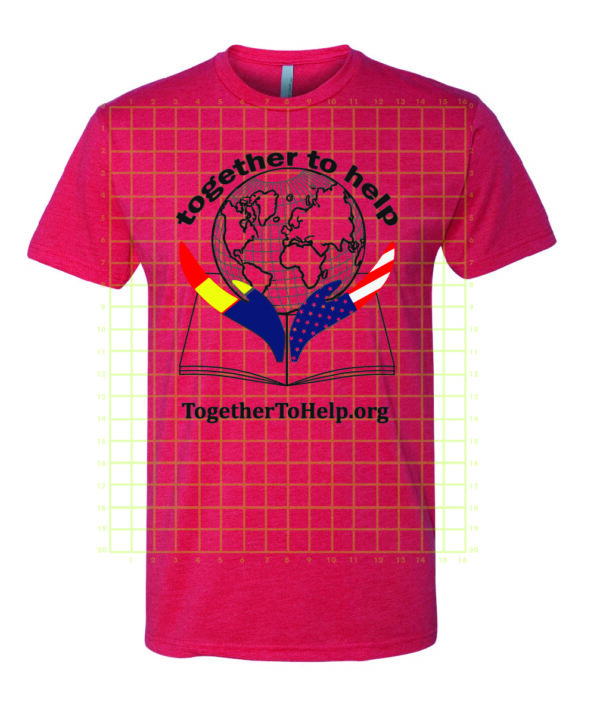 Together To Help t-shirt red