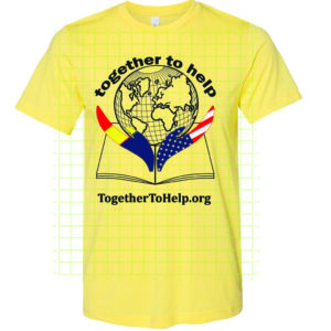Together To Help t-shirt yellow